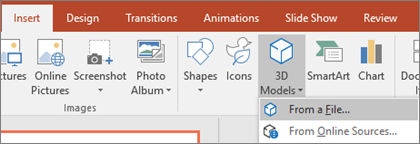 3D animations in PowerPoint
