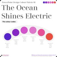 PowerPoint Colour Palette Template Design